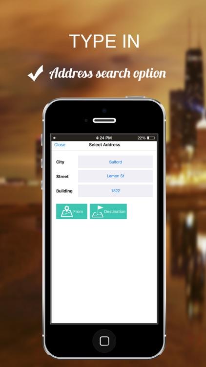 Santiago, Chile : Offline GPS Navigation screenshot-4