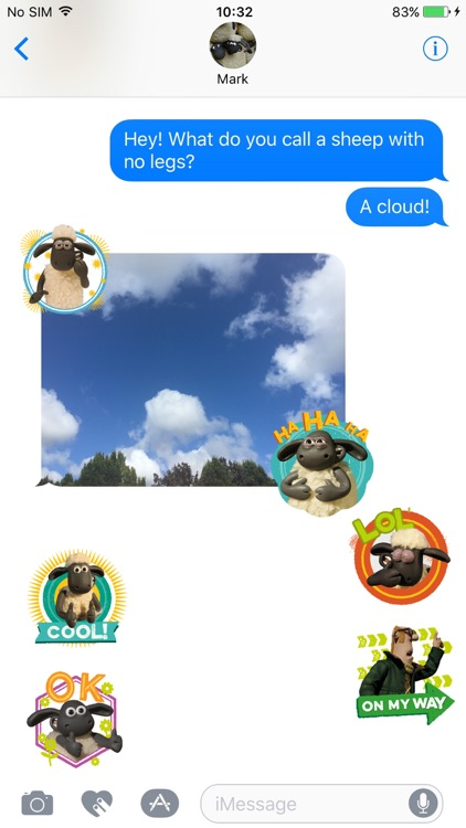 Shaun the Sheep Stickers