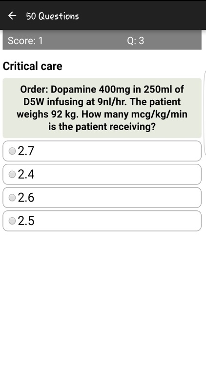 Injection Drug Dosages Quiz screenshot-3