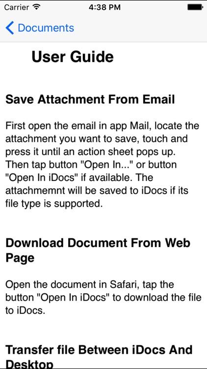 iDocs screenshot-4