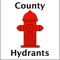 County Hydrants is a mobile application that easily allows its users to find the nearest fire hydrants to a given location
