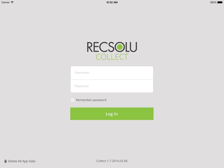 RECSOLU Collect