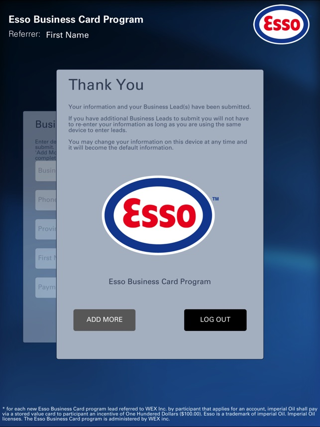 Lead Spot - Esso on the App Store