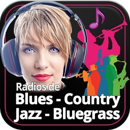 Radios de Música Blues Jazz Country & Bluegrass