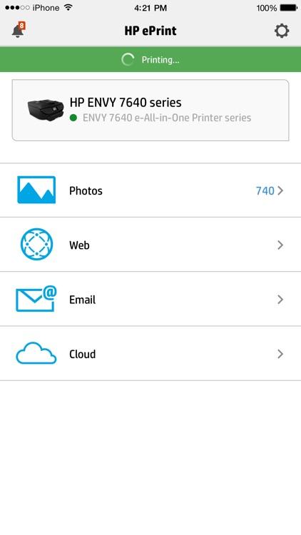 HP ePrint screenshot-0