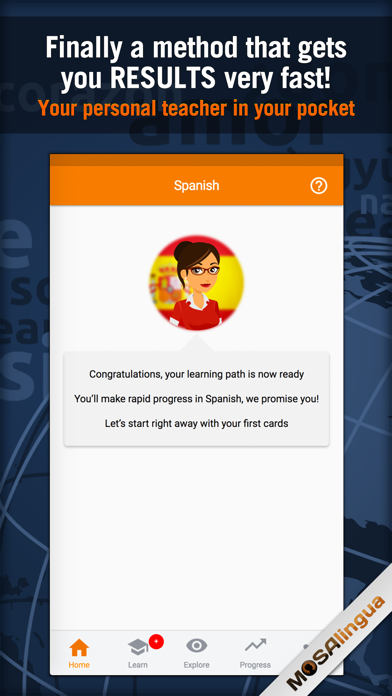 Learn Spanish - MosaLingua by MosaCrea Limited (iOS, United States