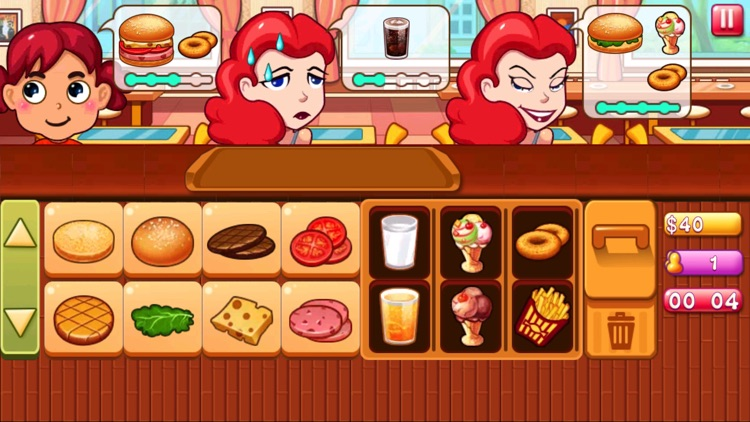 Burger Maker Shop-A Simulated Cooking game screenshot-3