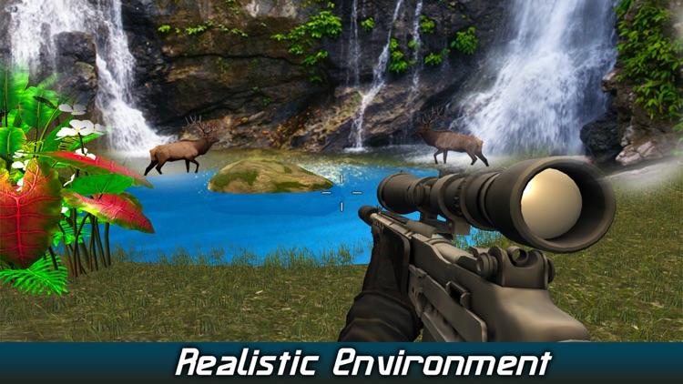 Wild Deer Hunting 2017: Snow Sniper Shooting 3D