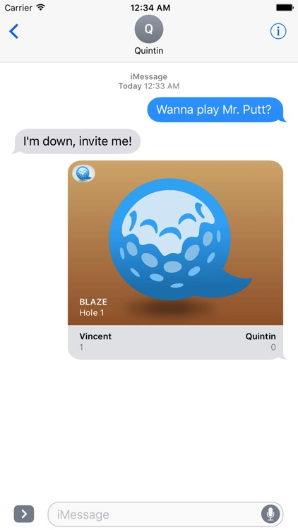 Mr. Putt - Mini Golf for iMessage