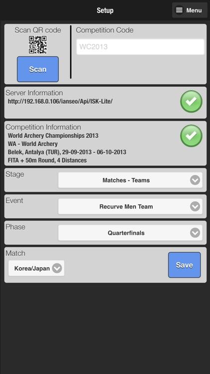 Ianseo Scorekeeper Lite