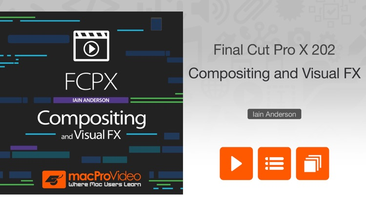 FCPX Compositing and Visual FX screenshot-0