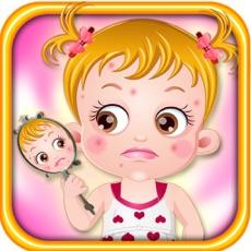 Activities of Baby Hazel Skin Trouble