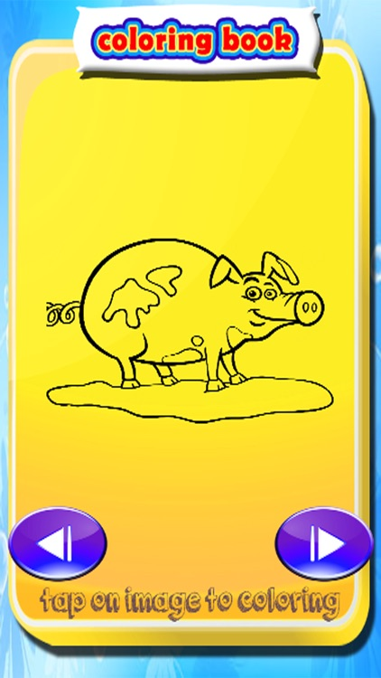 Coloring Pages Peppa Games For Kids Pig Version app image