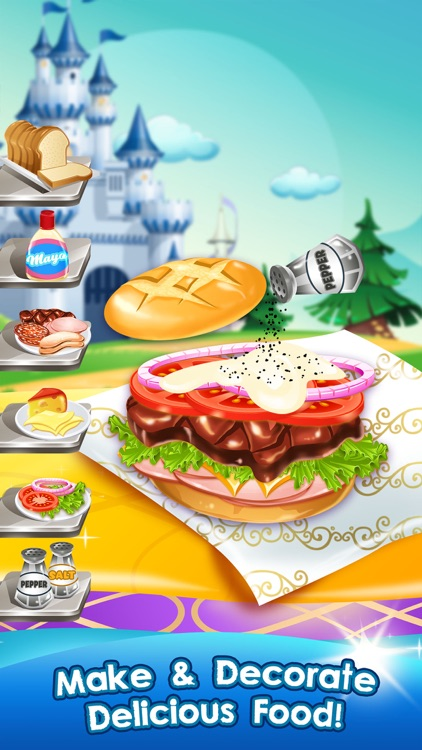 Cooking Food Maker Games for Kids (Girls & Boys) screenshot-3