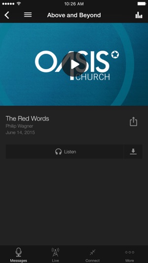 Oasis Church on the App Store