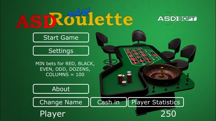 ASD Roulette New