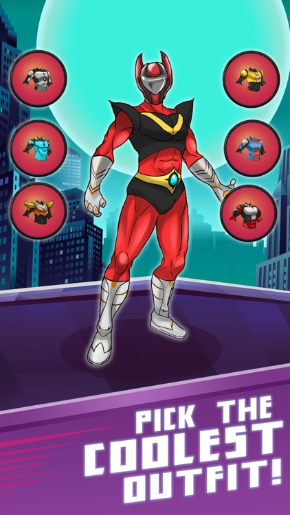 Superhero Champions Creator Game for Iron-Man by Tap2Fun