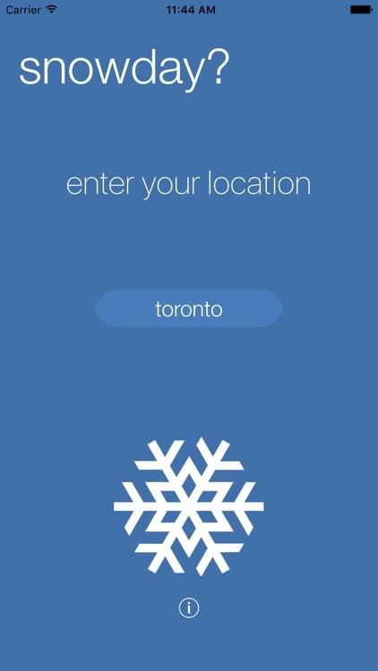 The Snowday App