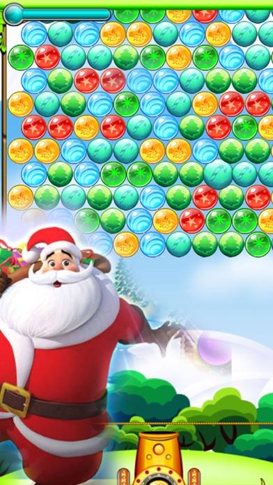 Ball Shooter - Santa Shoot Edition screenshot one