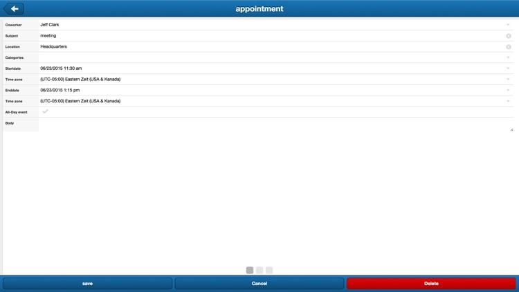 TimeFleX group calendar screenshot-4