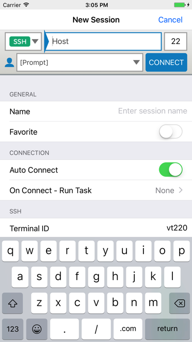 Reflection for UNIX SSH Client by Attachmate Corporation (iOS