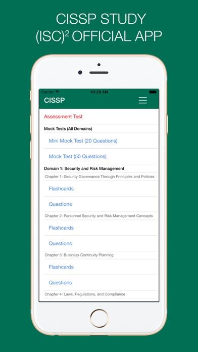 CISSP Study - (ISC)² OFFICIAL APP app image