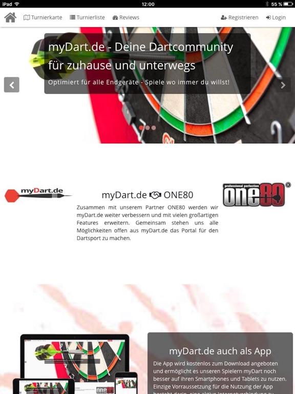 myDart.de screenshot 7