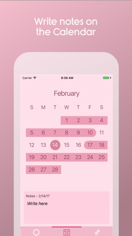 Contraceptive Ring Reminder screenshot-1