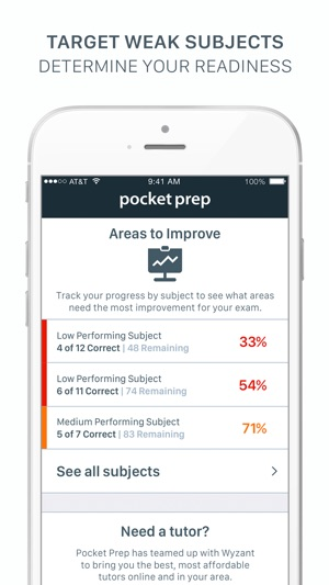 Wonderlic pocket prep on the app store fandeluxe Images