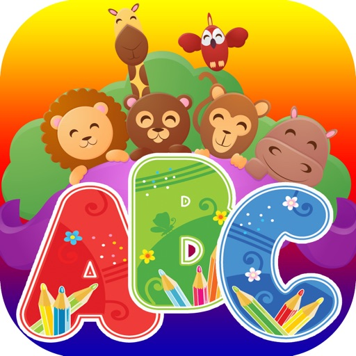 Learning A-Z Alphabet Flashcards Phonic for Kids