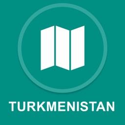 Turkmenistan : Offline GPS Navigation