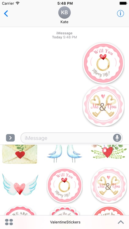 Sticker Love - Valentine's Day Fun