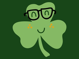 Shamrock Smiles Sticker Pack