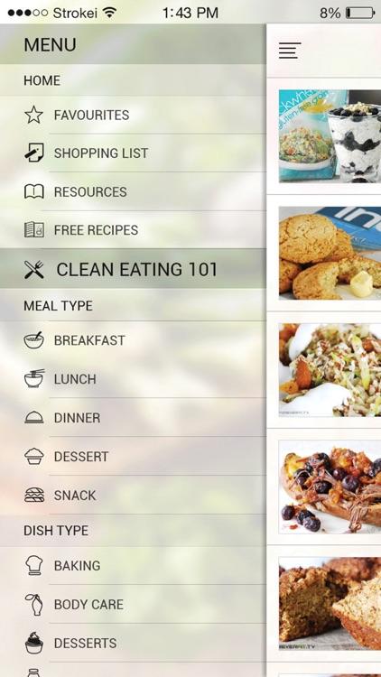 220+ Clean Eating Recipes - Foreverfit.tv screenshot-3