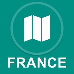 France : Offline GPS Navigation