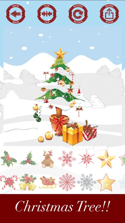 Decorate and create Christmas tree with stickers screenshot-3