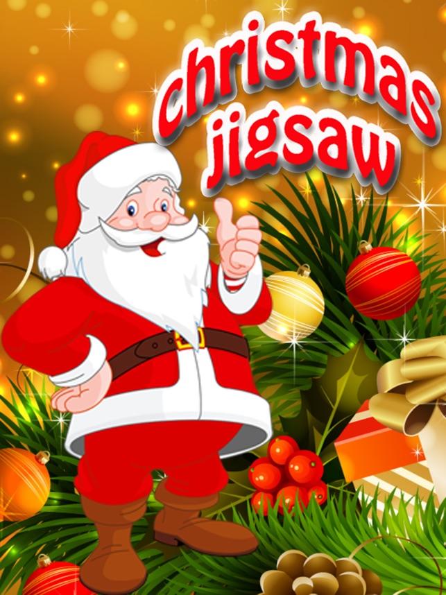 Christmas Santa Jigsaw Puzzle - Spaß Lernspiele im App Store