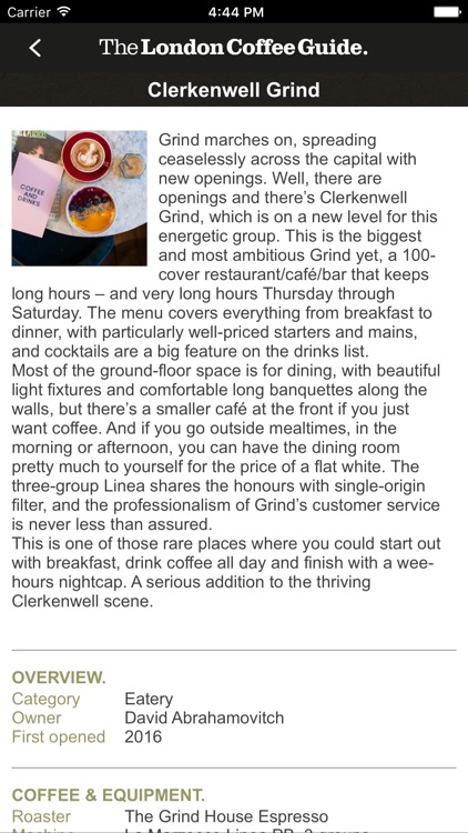 The London Coffee Guide screenshot-4