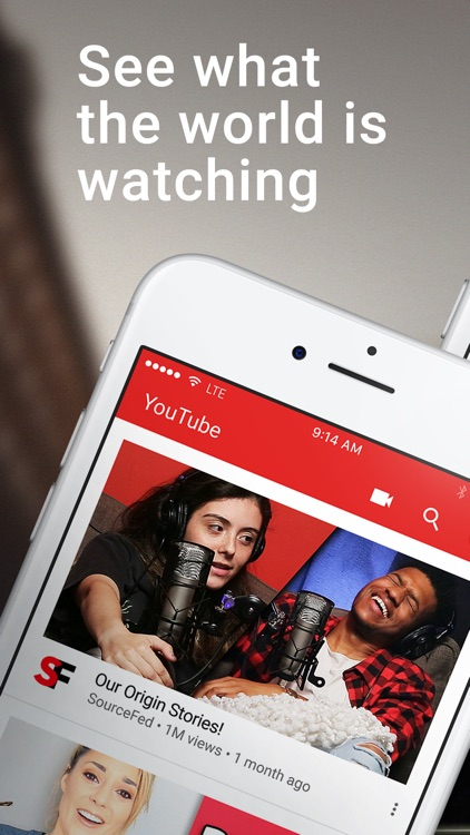 YouTube - Watch Videos, Music, and Live Clips app image