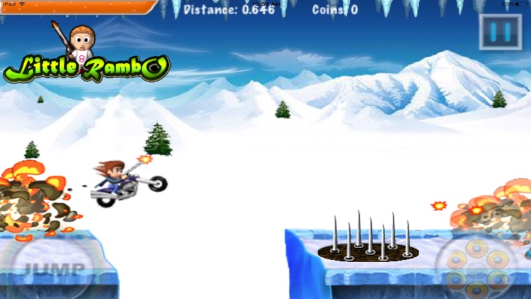 Little Rambo Shooting : Fun Kids Shooting & Racing screenshot-4