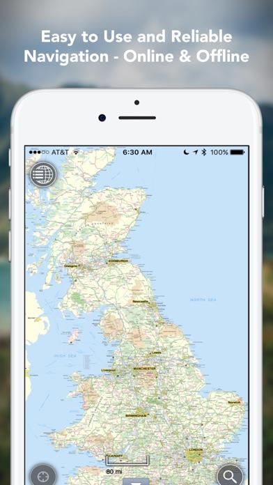 Outdoors GPS – Offline OS Maps Скриншоты3