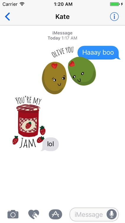 Food Love Sticker Pack screenshot-0