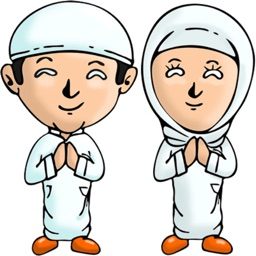 Muslim Cartoon stickers for iMessage