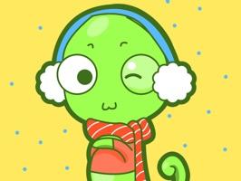 Chameleon Emoji Stickers