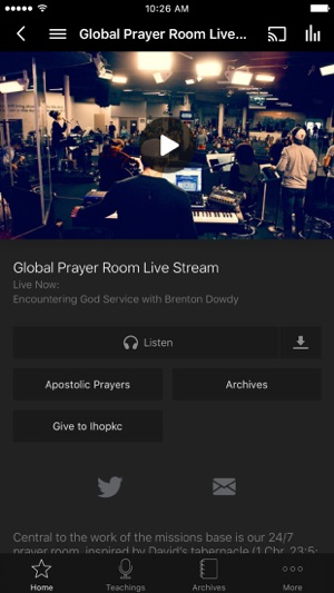 International House Of Prayer On The App Store