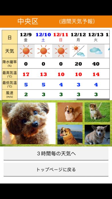 みんなのわんこ天気〜天気予報+犬写真で毎日に少しほっこり〜のおすすめ画像3