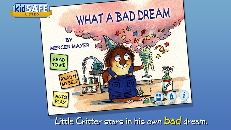 What a Bad Dream - Little Critter screenshot-0