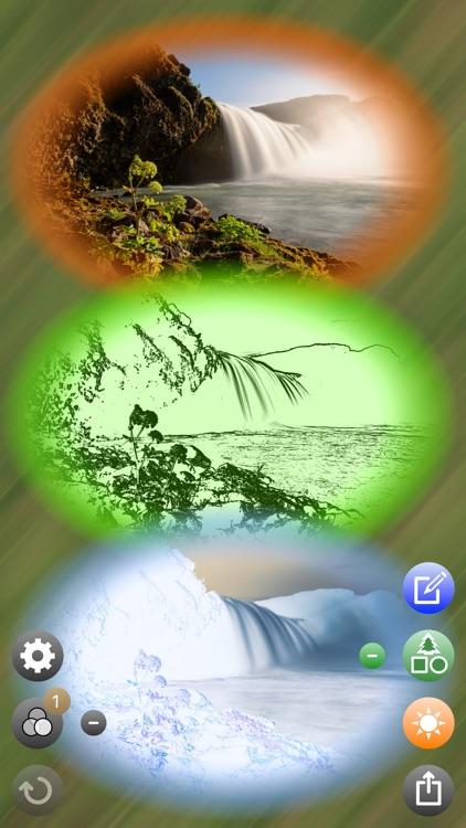 TreeKu: Collage Art Maker - Greetings & Wallpaper