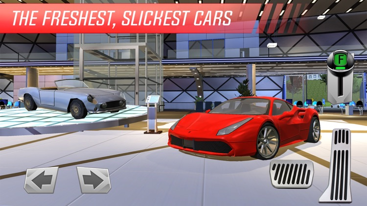 Car Showroom: Luxury Sports Auto Racing Simulator screenshot-3
