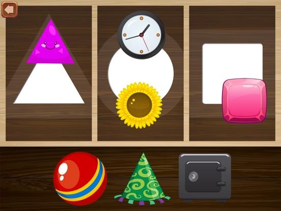 Детские игры. Пазлы для малышей и детей бесплатно для iPad